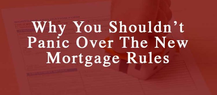 new mortgage rules canada
